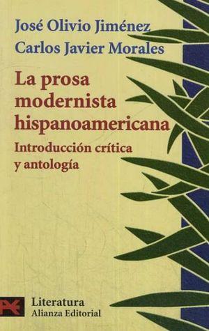 La prosa modernista hispanoamericana. Introducción crítica y antología