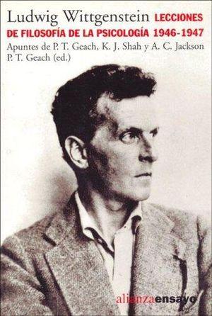 LECCIONES DE FILOSOFIA DE LA PSICOLOGIA 1946 1947