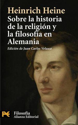 SOBRE LA HISTORIA DE LA RELIGION Y LA FILOSOFIA EN ALEMANIA