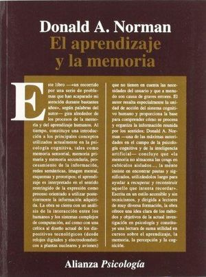 APRENDIZAJE Y LA MEMORIA, EL