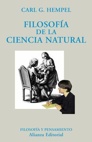 FILOSOFIA DE LA CIENCIA NATURAL