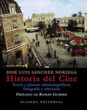 HISTORIA DEL CINE. TEORIA Y GENEROS CINEMATOGRAFICOS FOTOGRAFIA Y TELEVISION / PD.