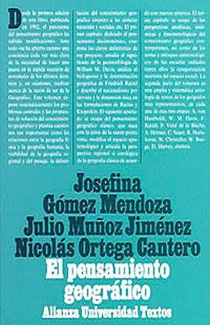 PENSAMIENTO GEOGRAFICO, EL. ESTUDIO IMPERATIVO Y ANTOLOGIA DE TEXTOS