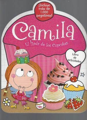 Camila el hada de los cupcakes. Libro de actividades