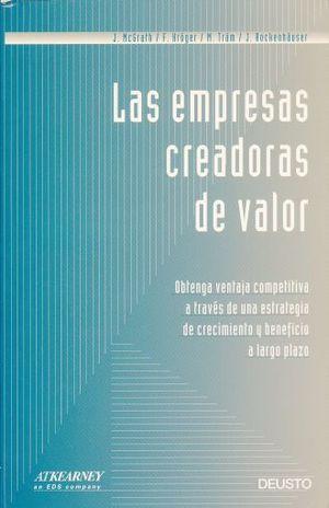 EMPRESAS CREADORAS DE VALOR