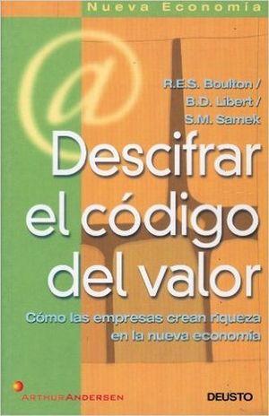 DESCIFRAR EL CODIGO DEL VALOR