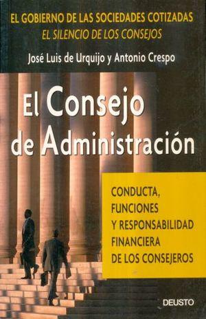 CONSEJO DE ADMINISTRACION, EL