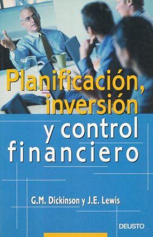 PLANIFICACION INVERSION Y CONTROL FINANCIERO