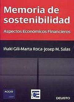 MEMORIA DE SOSTENIBILIDAD. ASPECTOS ECONOMICOS FINANCIEROS