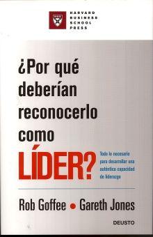 POR QUE DEBERIAN RECONOCERLO COMO LIDER / PD.