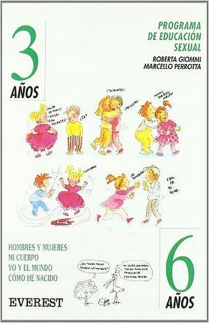 PROGRAMA DE EDUCACION SEXUAL 3- 6 AÑOS / PD.