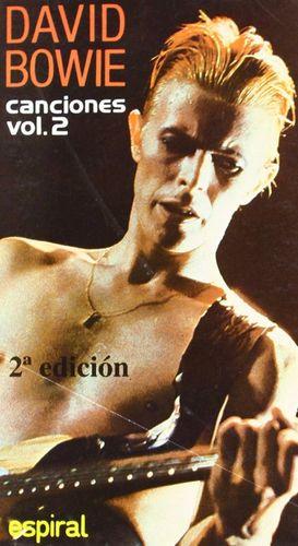 David Bowie. Canciones vol. 2 / 3 ed.