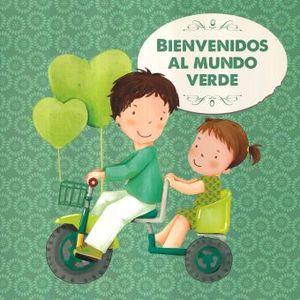 BIENVENIDOS AL MUNDO VERDE (INCLUYE PINCEL Y PINTURAS)