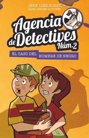 AGENCIA DE DETECTIVES 2. EL CASO DEL HOMBRE DE NEGRO / PD.