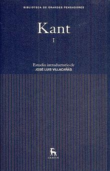 KANT I. CRITICA DE LA RAZON PURA / PROLEGOMENOS / PD.