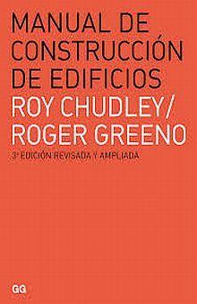 MANUAL DE CONSTRUCCION DE EDIFICIOS / 3 ED.