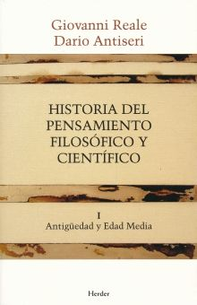 HISTORIA DEL PENSAMIENTO FILOSOFICO Y CIENTIFICO / VOL. 1