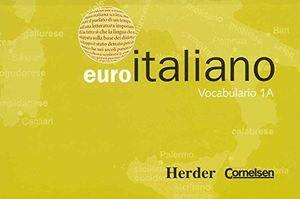 EURO ITALIANO VOCABULARIO 1A