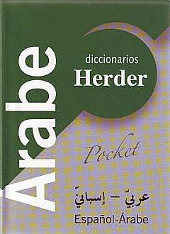 DICCIONARIOS HERDER ARABE POCKET