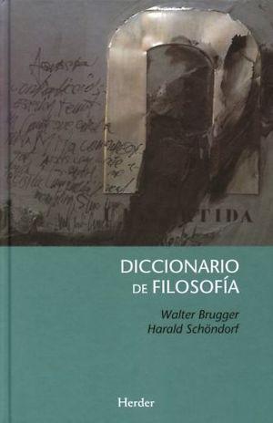 DICCIONARIO DE FILOSOFIA / 2 ED. / PD.