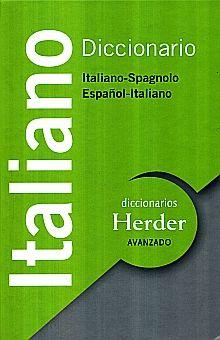 DICCIONARIO ITALIANO SPAGNOLO / ESPAÑOL ITALIANO / PD.