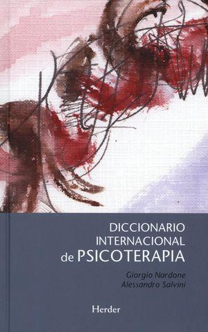 Diccionario internacional de psicoterapia / pd.