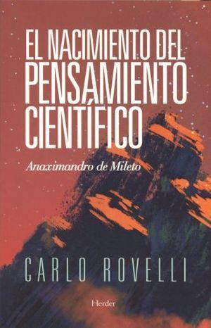 NACIMIENTO DEL PENSAMIENTO, EL. ANAXIMANDRO DE MILETO