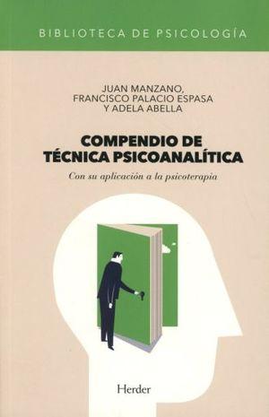 COMPENDIO DE TECNICA PSICOANALITICA. CON SU APLICACION A LA PSICOTERAPIA