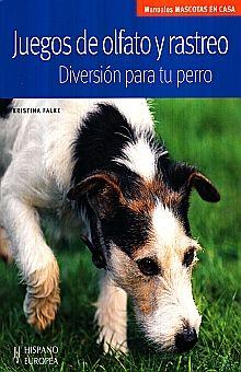 JUEGOS DE OLFATO Y RASTRERO . DIVERSION PARA TU PERRO