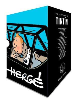 Paq. Las aventuras de Tintín cofre 90 aniversario / 23 Vol. / Pd.