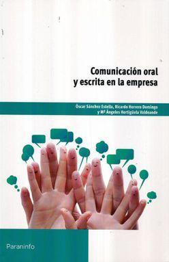 COMUNICACION ORAL Y ESCRITA EN LA EMPRESA