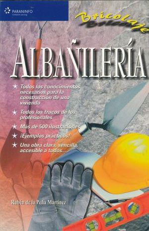 BRICOLAJE. ALBAÑILERIA