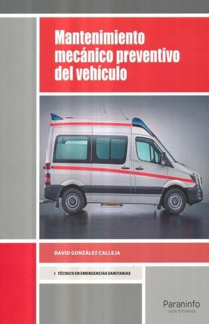MANTENIMIENTO MECANICO PREVENTIVO DEL VEHICULO