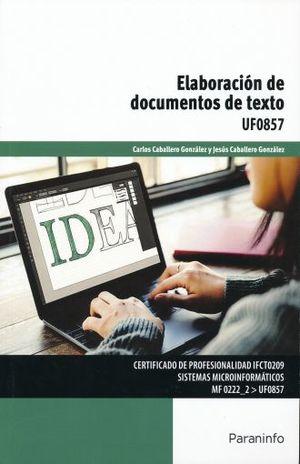 ELABORACION DE DOCUMENTOS DE TEXTO