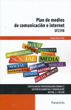 PLAN DE MEDIOS DE COMUNICACION E INTERNET