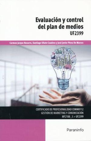 EVALUACION Y CONTROL DEL PLAN DE MEDIOS UF2399
