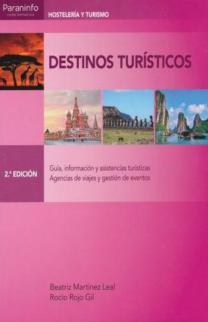 DESTINOS TURISTICOS / 2 ED.