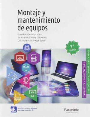 MONTAJE Y MANTENIMIENTO DE EQUIPOS / 3 ED.