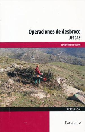 OPERACIONES DE DESBROCE UF1043