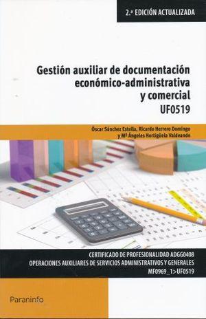 GESTION AUXILIAR DE DOCUMENTACION ECONOMICA ADMINISTRATIVA Y COMERCIAL