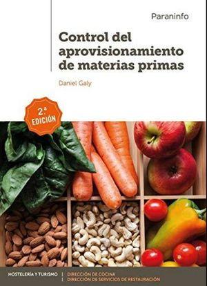CONTROL DEL APROVISIONAMIENTO DE MATERIAS PRIMAS / 2 ED.