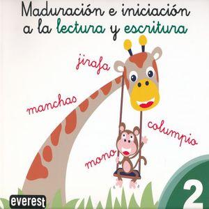 MADURACION E INICIACION A LA LECTURA Y ESCRITURA 2