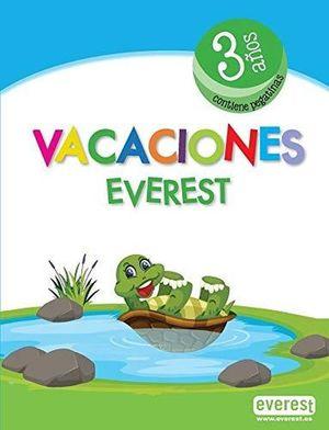 VACACIONES 3 AÑOS (INCLUYE PEGATINAS)