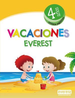 VACACIONES 4 AÑOS (INCLUYE PEGATINAS)