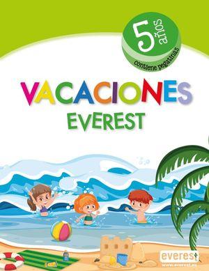 VACACIONES 5 AÑOS (INCLUYE PEGATINAS)
