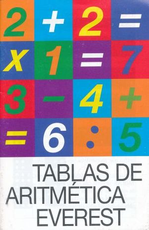 TABLAS DE ARITMETICA EVEREST