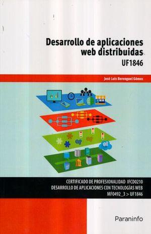DESARROLLO DE APLICACIONES WEB DISTRIBUIDAS UF1846. CERTIFICADO DE PROFESIONALIDAD IFCD0210