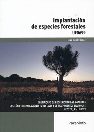 Implantación de especies forestales. Certificaciones de profesionalidad AGAR0109