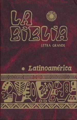 BIBLIA LATINOAMERICA LETRA GRANDE. EDICION PASTORAL / PD. (COLORES)