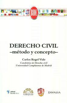 DERECHO CIVIL. METODO Y CONCEPTO